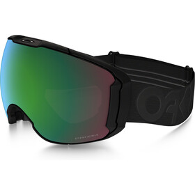 Oakley Airbrake XL Snow Goggles Herre factory pilot blackout w/ prizm jade iridium & prizm rose
